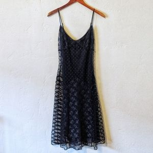 Vintage Betsey Johnson Lace Slip Dress